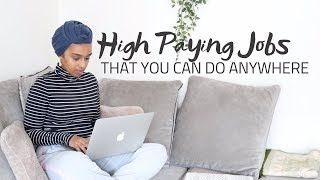 HIGH PAYING WORK AT HOME JOBS OF 2019 PAID DAILY
