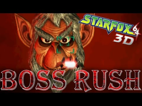 Star Fox 64 3D - Boss Rush (Expert Mode)