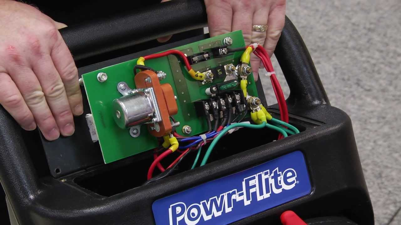 Troubleshoot Your Automatic Scrubber YouTube - Tennant 5680 wiring diagram