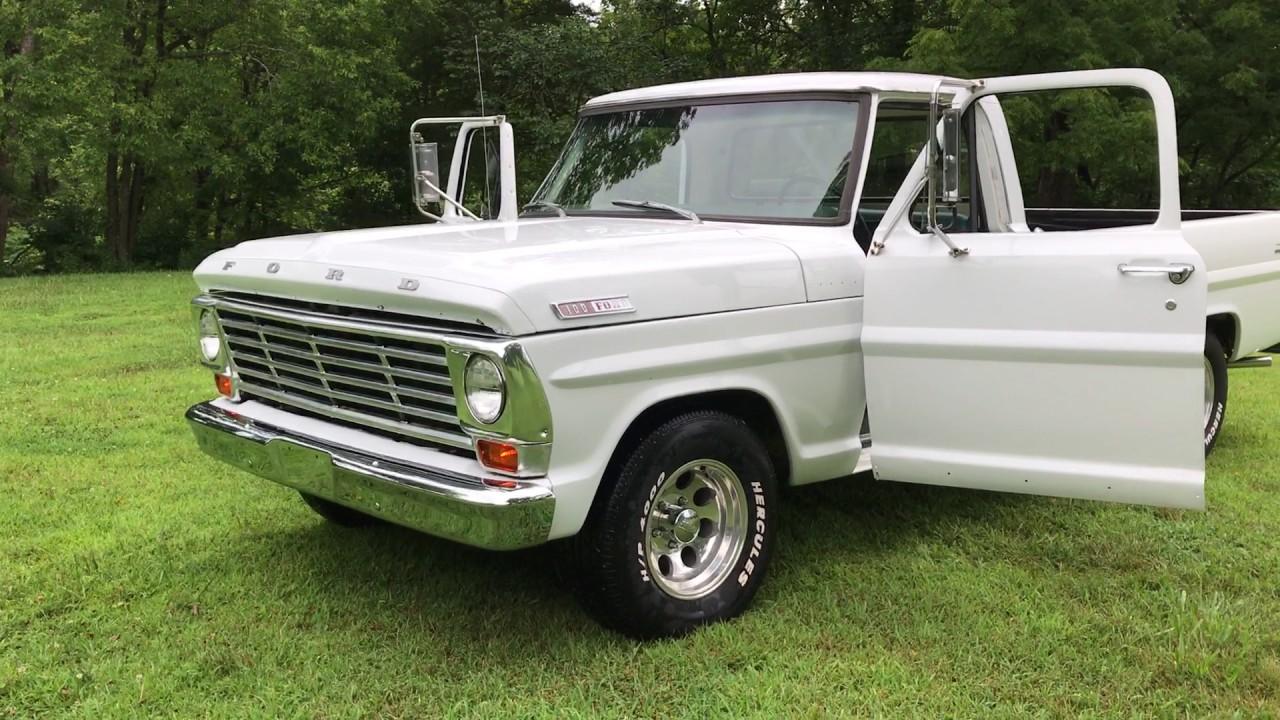 1967 ford f 100 interior