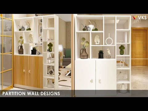 Modern Partition Designs for Living Dining Kitchen Room|Interior Room Divider Wall Designs