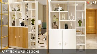Modern Partition Wall Design Ideas For Home | Living Room Dining Kitchen Room Divider Wall Design