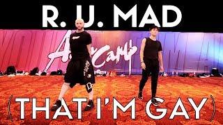 R U Mad feat Sean Lew - Michael Blume, Shea Couleé & Peppermint | Brian Friedman Choreo | Asia Camp thumbnail