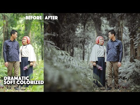Photoshop CC Tutorial Colorized Mood | Prewedding Photo