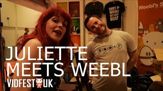 MrWeebl & Wildseed Studios | Juliette's Vidfest Diaries Episode 1 | VidfestUK May 2015