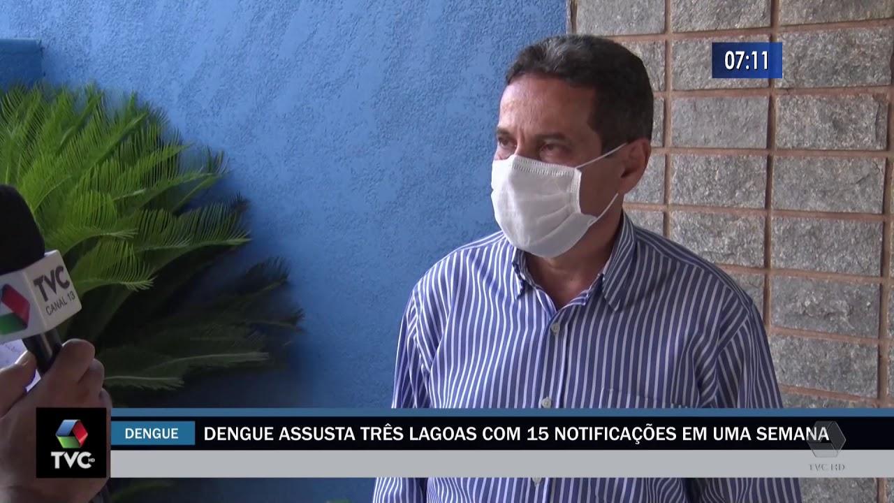 Dengue assusta Três Lagoas com 15 notificações em uma semana