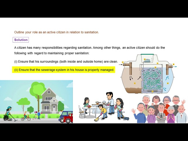 Waste Water Story - Q4 - CBSE class 7th science solution