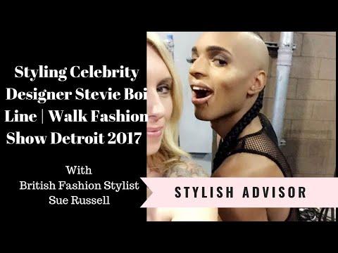 Walk Fashion Show Detroit 2017 - Behind The Scenes