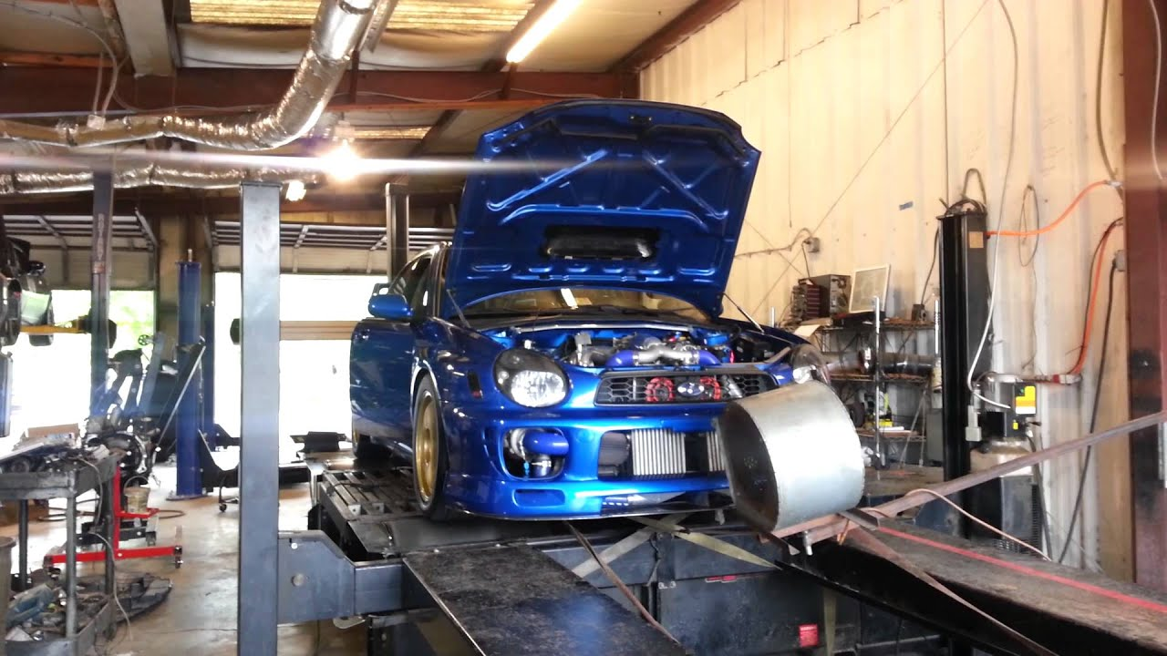 2002 Subaru WRX Twin Turbo street tune - YouTube