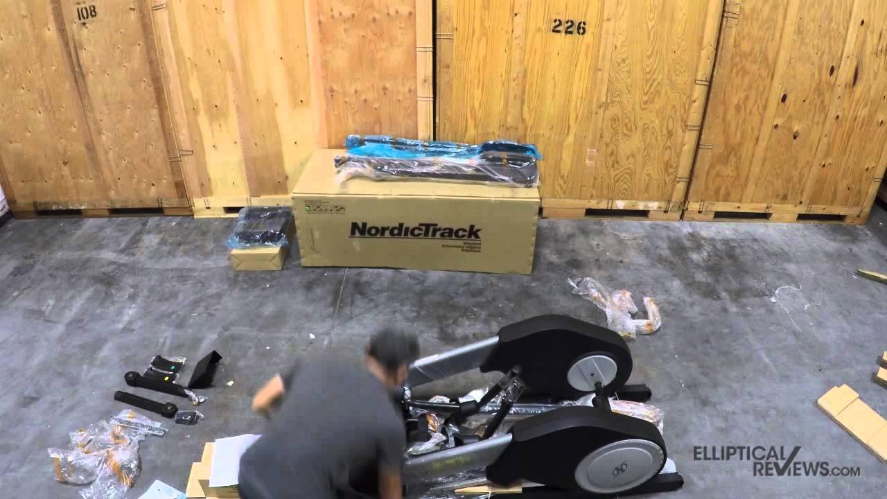 NordicTrack FS7i FreeStride Trainer Assembly - YouTube