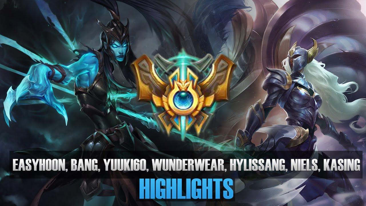 Trận đấu toàn sao: Eazyhoon, Bang, Niels, Kasing, Hylissang
