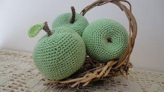 Яблоко СИМИРЕНКО Apple Symyrenka Crochet
