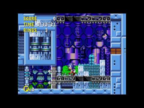 Sonic CD (J) - Metallic Madness 3 All time zones