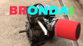 BRONDA Engine, Custom Intake and Exhaust System (BRONDA Part 2)