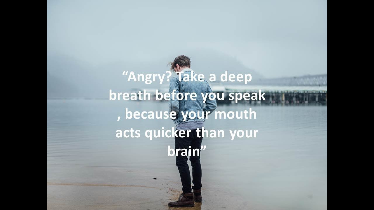 Quotes when your angry