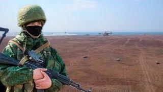 Эксклюзивное видео из кабины вертолета Ми-8. Вежливые люди.