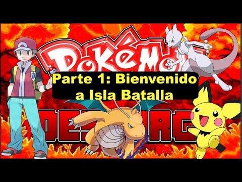 ¡¡¡El mejor hack rom que podrás encontrar!!! Pokemon Battle parte 1: Bienvenido a la isla batalla