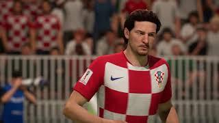 FIFA 18 | 2018 FIFA World Cup Semifinals Croatia 🇭🇷 vs England 🏴