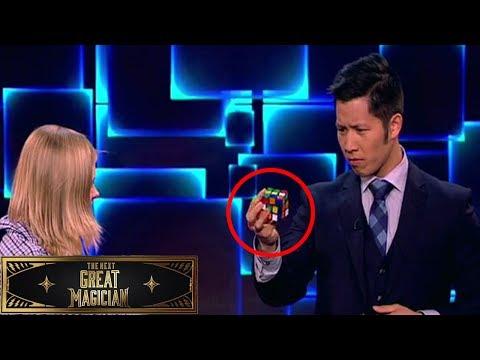 RUBIK'S CUBE MASTER! Paul Vu   Next Great Magician