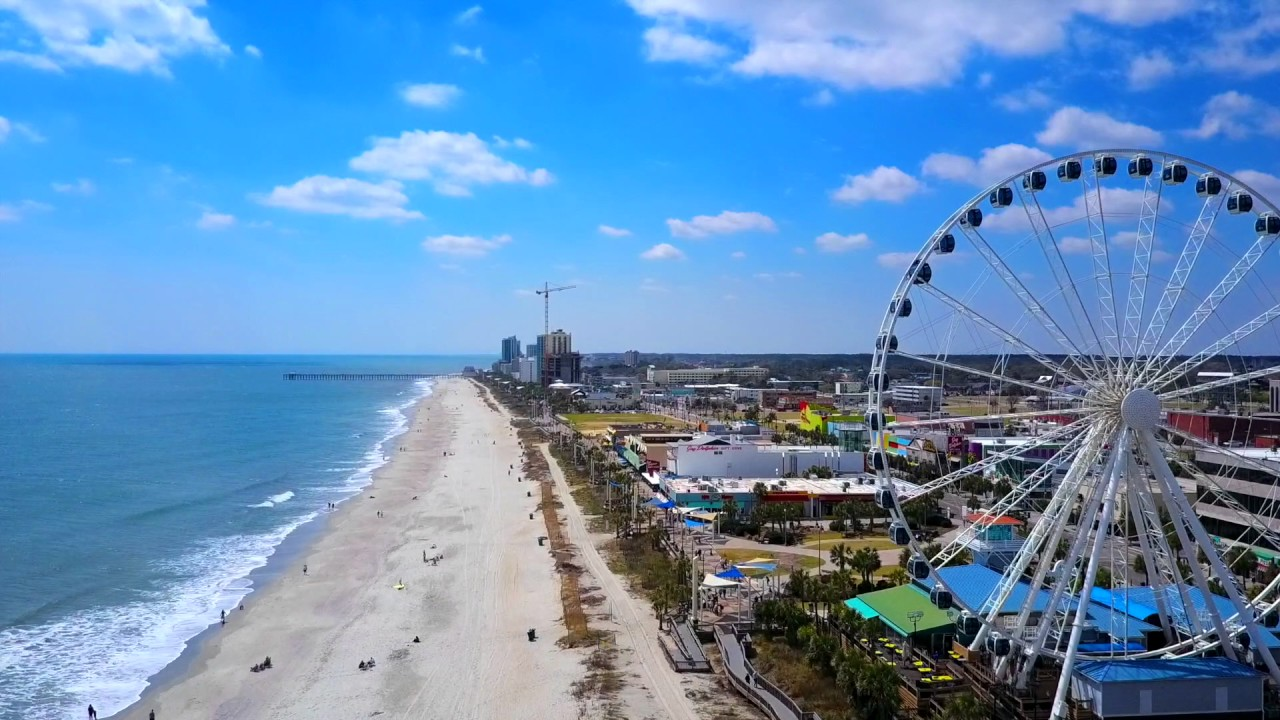 Myrtle Beach Drone Footage | DJI Mavic Pro - YouTube
