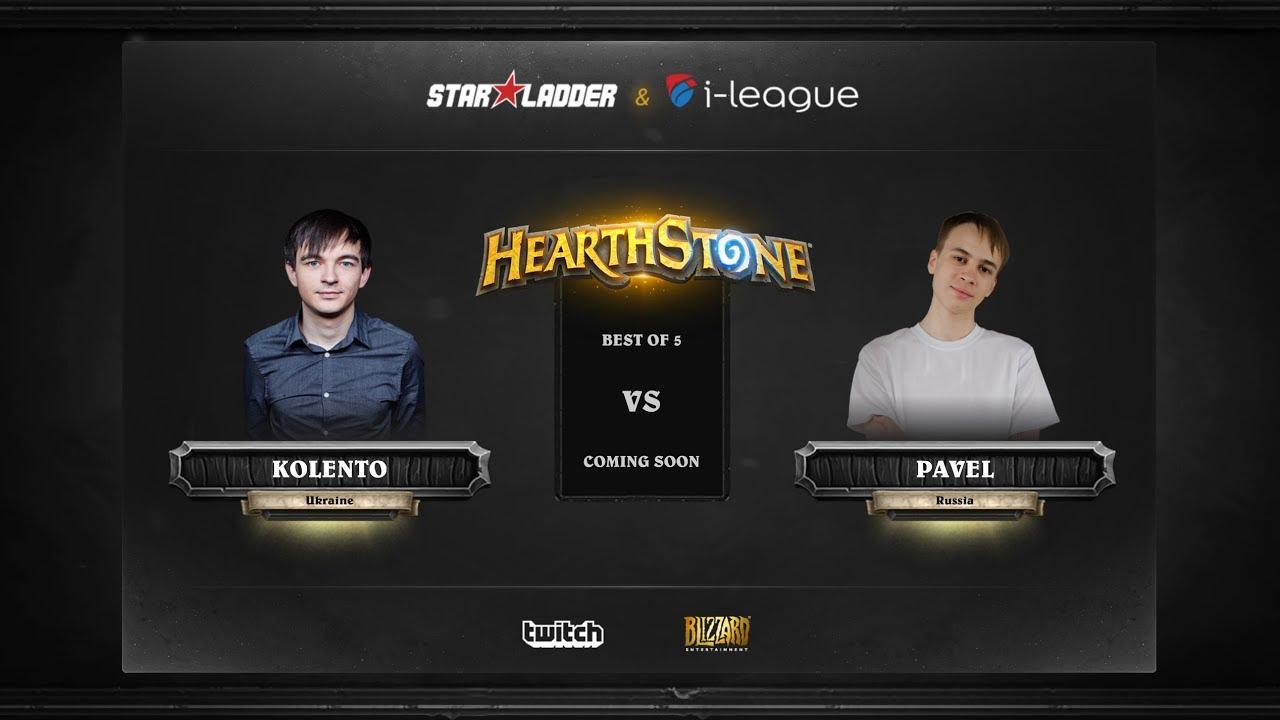 [EN] Kolento vs Pavel | SL i-League Hearthstone StarSeries Season 3 (25.05.2017)