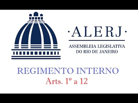 regimento interno da alerj para