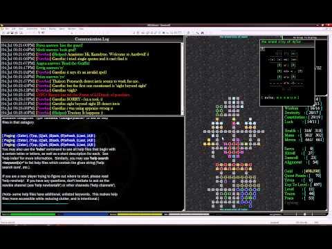 Youser 04: Aardwolf (MUD) Multi User Dungeon