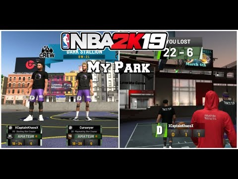 NBA 2K19 Hilarious My Park Rage/Funny Moments