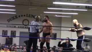 dcw anniversary tom mcclane great american beast vs mac mcphat rex ultima dcw tag team title