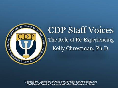 CDP Podcast The Role of Re Experiencing