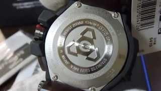 Close-up! G-SHOCK GPS GPW-1000RAF GRAVITYMASTER ROYAL AIR FORCE