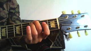 """Logical guitar lesson: Basic technique tip """"how to press strings"""""""