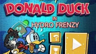 Donald Hydro Frenzy | Дональд Дак Работа