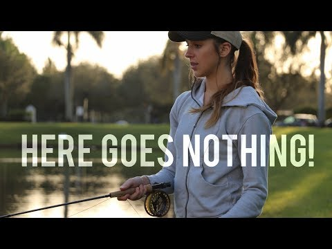 First Time Fly Fishing in FL! | Florida Adventures EP 2