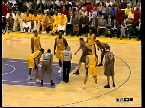 Finali NBA Lakers - Nets gara 1 2002 Tranquillo Buffa