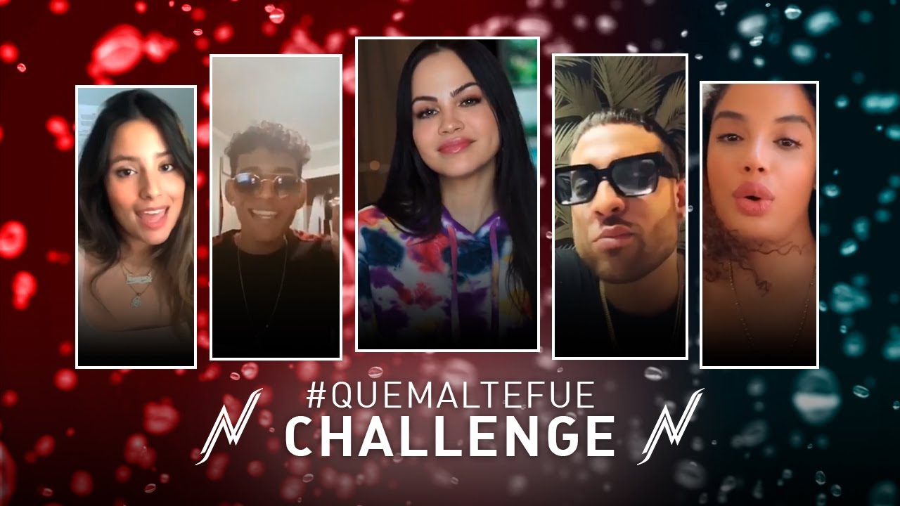 Natti Natasha - Que Mal Te Fue Challenge