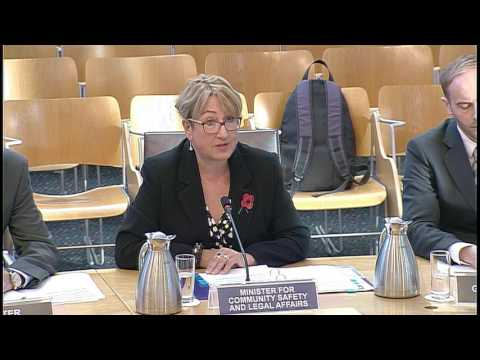 Justice Committee - Scottish Parliament: 1st November 2016