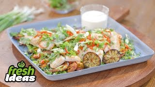 BBQ Basa Fish Fillet Recipe with Sweet Potato and Yoghurt - Woolworths Fresh Ideas