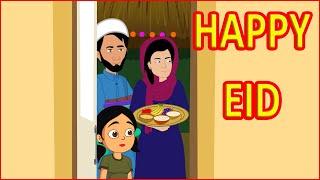 Happy Eid | English Stories For Kids | English Cartoon | Maha Cartoon TV English