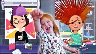 Adley App Reviews   Toca Hair Salon 3   Ultimate Hair Cuts