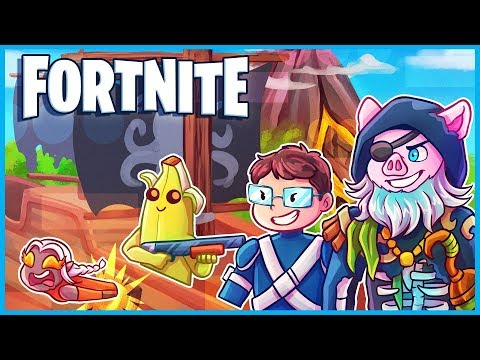 *EVERYTHING NEW* in FORTNITE SEASON 8 (TIER 100 Battle Pass Skins, Volcano, Pirates, Cannons)
