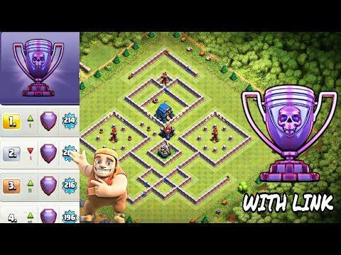 Repeat NEW BEST TH12 TROPHY WAR BASE 2019 WITH BASE LINK