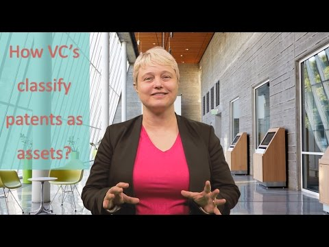 How VC's Classify Patents As Assets