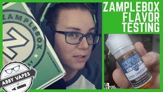 Zamplebox Flavor Taste! Emergency Vape Stash - Lemon Cheesecake