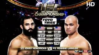 Джонни Хендрикс vs Робби Лоулера UFC 181 ЛУЧШИЕ МОМЕНТЫ БОЯ