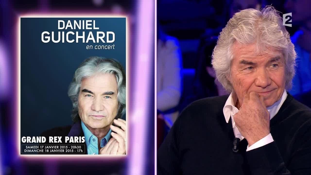 Daniel Guichard - On n'est pas couché - 15 novembre 2014 #ONPC