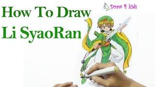 How to draw Li Syaoran from Cardcaptor | D4K