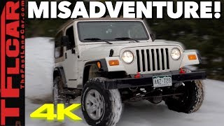 We Took Our Modded Wrangler Offroad And Got Super Stuck: Cheap Jeep Challenge Ep.6