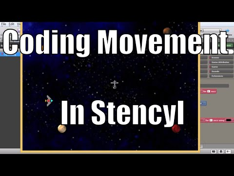 Making Space Game With Stencyl - Part 4 - Coding 101 and Movement Code