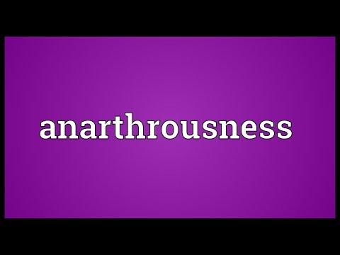 Header of anarthrousness